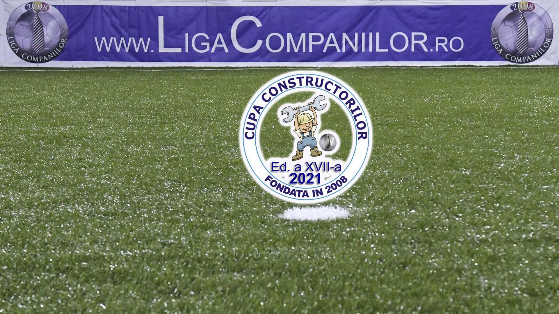 """""""Cupa Constructorilor 2021"""" inaugurează noul sezon de fotbal pentru companii"""